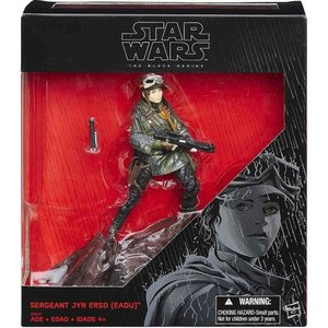 ジン アーソ Jyn Erso ハズブロ Hasbro Toys フィギュア おもちゃ Star Wars Rogue One Black Series Sergeant (Eadu) Exclusive|fermart-hobby