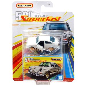 マッチボックス Matchbox おもちゃ・ホビー 50th Anniversary Superfast '65 Volkswagen Type 3 Fastback Diecast Vehicle #10|fermart-hobby