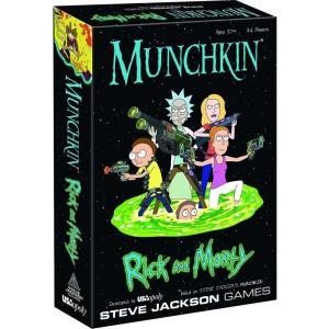 マンチキン Munchkin ゲーム・パズル Rick & Morty Card Game|fermart-hobby