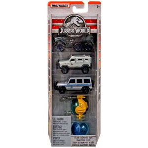 ジュラシック ワールド Jurassic World マテル Mattel おもちゃ Hot Wheels Die Cast Car 5-Pack|fermart-hobby
