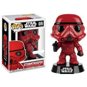 ストームトルーパー Stormtrooper ファンコ Funko フィギュア おもちゃ POP! Star Wars Exclusive Vinyl Bobble Head #05 [Red] fermart-hobby