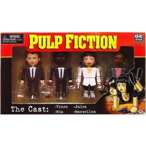 パルプ フィクション Pulp Fiction フィギュア 4点セット Geomes The Cast Mini Figure 4-Pack #1|fermart-hobby