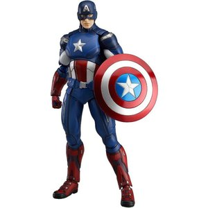 キャプテン アメリカ Captain America マックスファクトリー Max Factory フィギュア おもちゃ Marvel Avengers Figma Series Action Figure|fermart-hobby