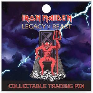 アイアン メイデン Iron Maiden グッズ : Legacy of the Beast The Beast 2-Inch Lapel Pin|fermart-hobby