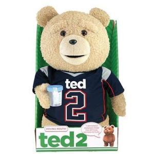 テッド Ted 2 コモンウェルストイズ Commonwealth Toys ぬいぐるみ おもちゃ Ted in Jersey 16-Inch Talking Plush [Clean]|fermart-hobby