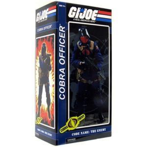 ジー アイ ジョー GI Joe サイドショウ Sideshow Collectibles フィギュア おもちゃ Cobra Enemy Cobra Officer 1/6 Collectible Figure|fermart-hobby