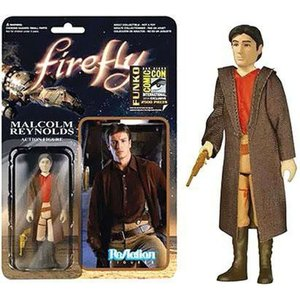 ファイヤーフライ 宇宙大戦争 Firefly フィギュア ReAction Malclom Reynolds Exclusive Action Figure [Browncoat]|fermart-hobby
