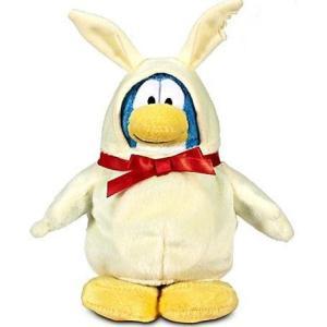 クラブ ペンギン Club Penguin ジャックスパシフィック Jakks Pacific フィギュア おもちゃ Series 12 Chocolate Easter Bunny 6.5-Inch Plush Figure [White]|fermart-hobby