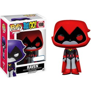 ティーン タイタンズGO! Teen Titans Go! フィギュア POP! TV Raven Exclusive Vinyl Figure #108 [Red]|fermart-hobby