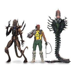 エイリアン Alien フィギュア s Series 13 Space Marine Sgt. Apone, Snake , Scorpion Set of 3 Action Figures|fermart-hobby