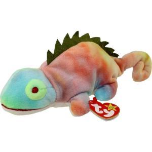 ビーニーベイビーズ Beanie Babies Ty ぬいぐるみ おもちゃ Iggy the Iguana Beanie Baby Plush|fermart-hobby