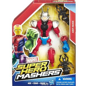 アントマン Ant-Man ハズブロ Hasbro Toys フィギュア おもちゃ Marvel Super Hero Mashers Action Figure|fermart-hobby