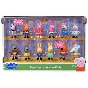ペッパピッグ Peppa Pig ジャズウェアーズ Jazwares フィギュア おもちゃ Fancy Dress Party Exclusive Figure 12-Pack|fermart-hobby