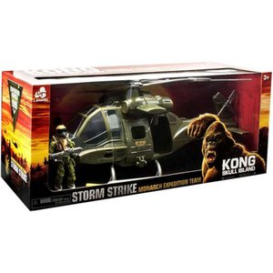 キングコング King Kong ラナード フィギュア おもちゃ Kong Skull Island Storm Strike Monarch Expedition Team Helicopter & Figure Exclusive Playset|fermart-hobby