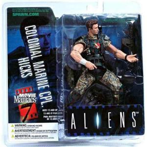 マクファーレントイズ McFarlane Toys フィギュア おもちゃ Aliens Movie Maniacs Series 7 Colonial Marine CPL. Hicks Action Figure|fermart-hobby