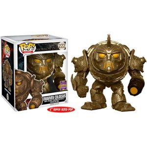 ジ エルダー スクロールズ ファンコ フィギュア おもちゃ Morrowind POP! Games Dwarven Colossus Exclusive 6-Inch Vinyl Figure #222 [Super-Size]|fermart-hobby