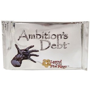 レジェンドオブザファイブリング Legend of the Five Rings AEG Alderac Entertainment Group おもちゃ Ambition's Debt Unicorn Deck|fermart-hobby