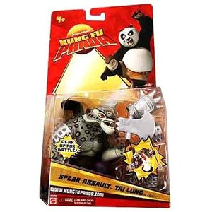 カンフー パンダ Kung Fu Panda マテル Mattel Toys フィギュア おもちゃ Tai Lung Action Figure [Spear Assault]|fermart-hobby