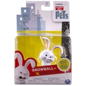 ザ シークレット ライフ オブ ペッツ The Secret Life of Pets スピンマスター Spin Master フィギュア おもちゃ Poseable Pet Figures Snowball Action Figure|fermart-hobby