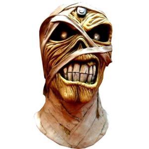 アイアン メイデン Iron Maiden グッズ Aces High Powerslave Mummy Eddie Costume Prop Mask|fermart-hobby