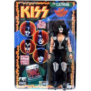 キッス KISS フィギュアーズトイ Figures Toy Co. フィギュア おもちゃ Series 3 The Catman 12 Inch Action Figure [Peter Criss]|fermart-hobby