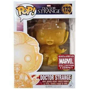 ドクター ストレンジ Doctor Strange ファンコ Funko フィギュア おもちゃ POP! Marvel Exclusive Vinyl Bobble Head #173 [Collector Corps]|fermart-hobby