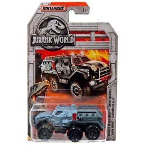マッチボックス Matchbox おもちゃ・ホビー Jurassic World Armored Action Truck Diecast Vehicle|fermart-hobby