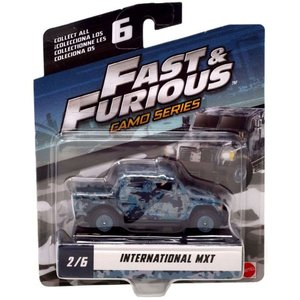 ワイルド スピード The Fast and the Furious グッズ ミニカー Camo Series International MXT Diecast Car #2/6|fermart-hobby