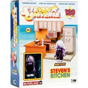スティーブン ユニバース Steven Universe マクファーレントイズ McFarlane Toys おもちゃ Amethyst & Steven's Kitchen Small Construction Set|fermart-hobby