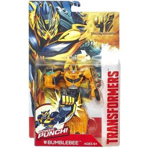 トランスフォーマー Transformers ハズブロ Hasbro Toys フィギュア おもちゃ Age of Extinction Power Battler Bumblebee Action Figure|fermart-hobby