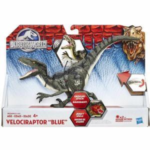 ジュラシック ワールド Jurassic World ハズブロ Hasbro Toys フィギュア おもちゃ Growler Velociraptor Blue Action Figure|fermart-hobby
