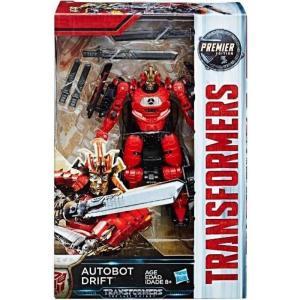 トランスフォーマー The Last Knight ハズブロ Hasbro Toys フィギュア おもちゃ Transformers Premier Deluxe Autobot Drift Action Figure|fermart-hobby