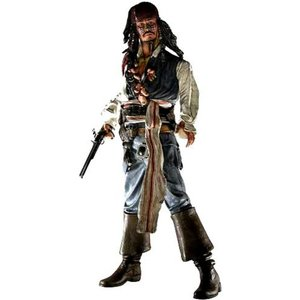 パイレーツ オブ カリビアン Pirates of the Caribbean ネカ NECA フィギュア おもちゃ Dead Man's Chest Captain Jack Sparrow Action Figure [Cannibal]|fermart-hobby