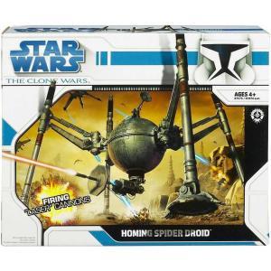 スターウォーズ Star Wars ハズブロ Hasbro Toys フィギュア おもちゃ The Clone Wars Vehicles 2008 Homing Spider Droid Action Figure Vehicle fermart-hobby