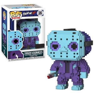 13日の金曜日 Friday the 13th ファンコ Funko フィギュア おもちゃ POP! 8-Bit Jason Voorhees Exclusive Vinyl Figure #26 [NES Colors]|fermart-hobby