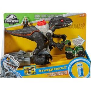イメージネクスト Imaginext フィギュア Jurassic World Walking Indoraptor Figure Set [Motorized!] fermart-hobby