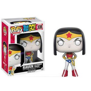 ティーン タイタンズGO! Teen Titans Go! フィギュア DC POP! TV Raven as Wonder Woman Exclusive Vinyl Figure #335|fermart-hobby