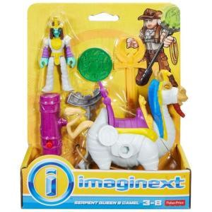 イメージネクスト Imaginext フィギュア Serpent Queen & Camel Figure Set fermart-hobby