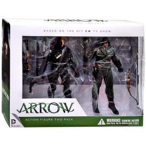 アロー Arrow ディーシー コミックス DC Collectibles フィギュア おもちゃ DC Oliver Queen & Deathstroke Action Figure 2-Pack|fermart-hobby