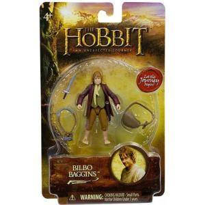 ホビット The Hobbit フィギュア An Unexpected Journey Bilbo Baggins Action Figure|fermart-hobby