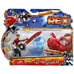 ジェネレーターレックス Generator Rex フィギュア Evo Attack Pack Rex Action Figure [Big Fat Sword