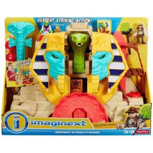 イメージネクスト Imaginext おもちゃ・ホビー Serpent Strike Pyramid Playset fermart-hobby