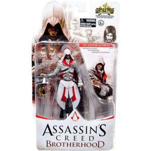 アサシン クリード Assassin's Creed ユニマックス Unimax フィギュア おもちゃ Brotherhood Gamestars Ezio Auditore da Firenze Action Figure|fermart-hobby
