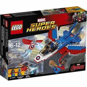 キャプテン アメリカ Captain America レゴ LEGO おもちゃ Marvel Super Heroes Avengers Jet Pursuit Set #76076|fermart-hobby