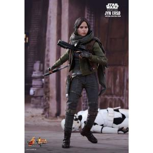ジン アーソ Jyn Erso ホットトイズ Hot Toys フィギュア おもちゃ Star Wars Rogue One Movie Masterpiece 1/6 Collectible Figure|fermart-hobby