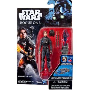 ジン アーソ Jyn Erso ハズブロ Hasbro Toys フィギュア おもちゃ Star Wars Rogue One Sergeant Action Figure|fermart-hobby