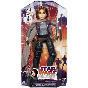ジン アーソ Jyn Erso ハズブロ Hasbro Toys フィギュア おもちゃ Star Wars Forces of Destiny Adventure Figure|fermart-hobby