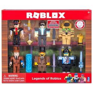 ロブロックス Roblox ジャズウェアーズ Jazwares フィギュア おもちゃ Legends of Action Figure 6-Pack fermart-hobby