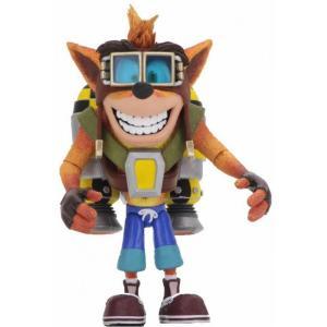 クラッシュ バンディクー Crash Bandicoot フィギュア Crash Deluxe Action Figure [with Jet Pack]|fermart-hobby