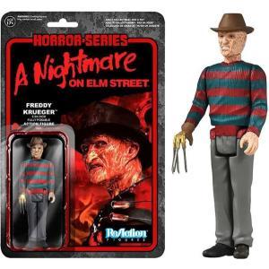 エルム街の悪夢 A Nightmare on Elm Street ファンコ Funko フィギュア おもちゃ ReAction Freddy Krueger Action Figure fermart-hobby